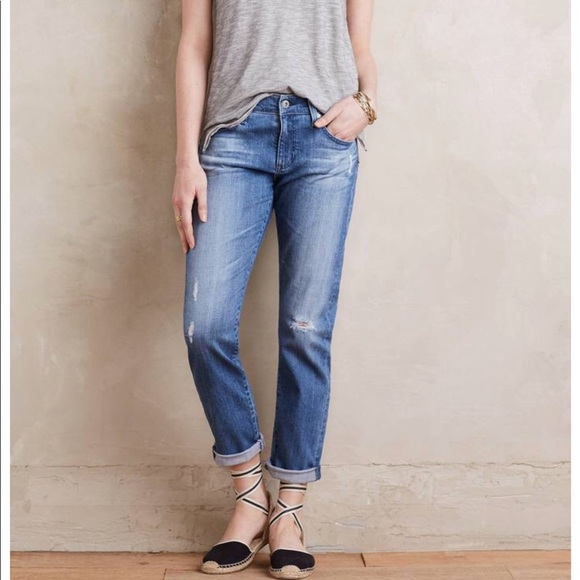 2fb817877e6a Anthropologie Denim - Anthropologie AG Nolan Ankle Distressed Jeans 26
